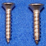 vinyl step seal strip screws